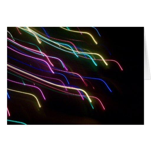 Tarjeta de Navidad de Borealis de la aurora
