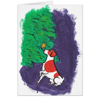 Tarjeta de Navidad de Bretaña