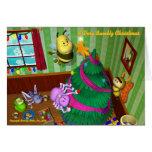 Tarjeta de Navidad de Bumblz #2 - modificada para