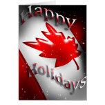 Tarjeta de Navidad de Canadá