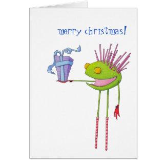 Tarjeta de Navidad de Cedric del Critter
