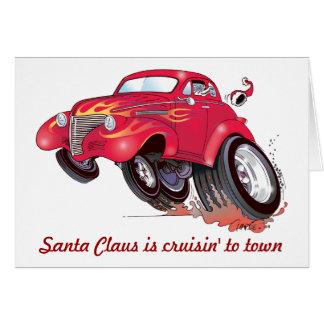 Tarjeta de Navidad de Chevy de Santa 39