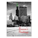 Tarjeta de Navidad de Chicago