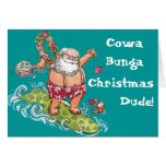 ¡Tarjeta de Navidad de Cowa-Bunga!