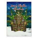 Tarjeta de Navidad de Cthulhu - Cthulhu