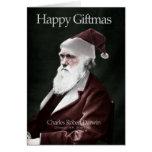 Tarjeta de Navidad de Darwin