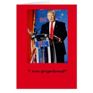 Tarjeta de Navidad de Donald Trump