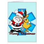 Tarjeta de Navidad de EMT Santa