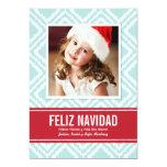 Tarjeta de Navidad de Fotos | Modelo de Ikat Custom Invitations
