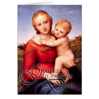 Tarjeta de Navidad de Gloria