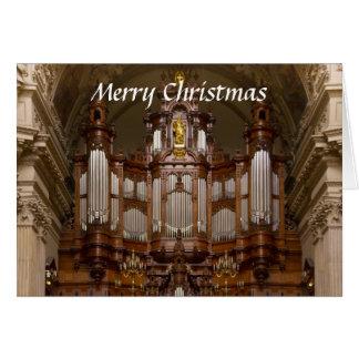 Tarjeta de Navidad de la catedral de Berlín