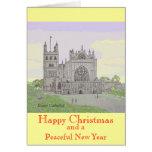 Tarjeta de Navidad de la catedral de Exeter
