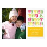 Tarjeta de Navidad de la diversión del navidad (am