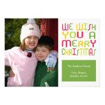 Tarjeta de Navidad de la diversión del navidad (ve