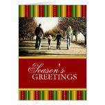 Tarjeta de Navidad de la foto