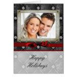 tarjeta de Navidad de la foto 5X7