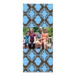 tarjeta de Navidad de la foto de familia 4x9 Comunicado Personalizado