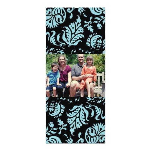 tarjeta de Navidad de la foto de familia 4x9 Invitación 10,1 X 23,5 Cm