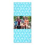 tarjeta de Navidad de la foto de familia 4x9 Invitación Personalizada