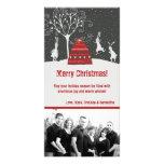 tarjeta de Navidad de la FOTO del conejo de Tarjetas Con Fotos Personalizadas