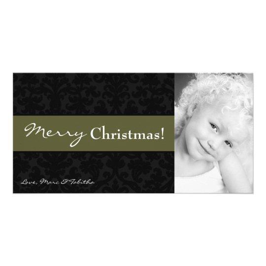 tarjeta de Navidad de la FOTO del marco del Tarjetas Fotograficas Personalizadas