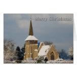 Tarjeta de Navidad de la iglesia de Otham