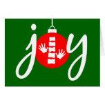 Tarjeta de Navidad de la quiropráctica de la ALEGR