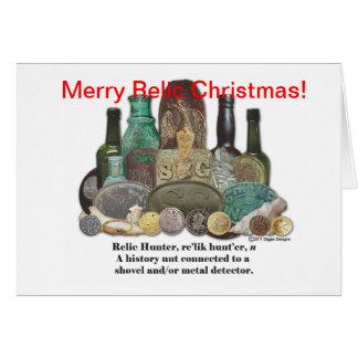 Tarjeta de Navidad de la reliquia