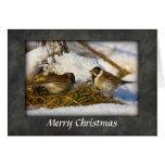 Tarjeta de Navidad de los empavesados de lámina #2