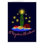 Tarjeta de Navidad de los Kayakers