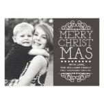 Tarjeta de Navidad de lujo Anuncio Personalizado