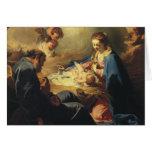 Tarjeta de Navidad de Madonna del Victorian