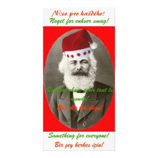 Tarjeta de Navidad de Marx Tarjetas Personales