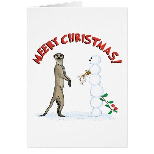 Tarjeta de Navidad de Meery