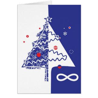 Tarjeta de Navidad de Metis con el saludo