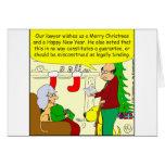 Tarjeta de Navidad de nuestro abogado - dibujo ani