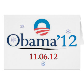 Tarjeta de Navidad de Obama 2012