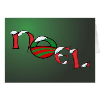 Tarjeta de Navidad de Obama Noel