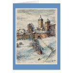 """Tarjeta de Navidad de Paul McGehee """"Rothenburg"""""""