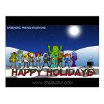 Tarjeta de Navidad de RPGeneric Postal