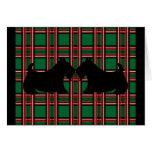 Tarjeta de Navidad de Terrier del escocés