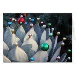 Tarjeta de Navidad del agavo de Debra Lee Baldwin