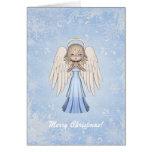 Tarjeta de Navidad del ángel