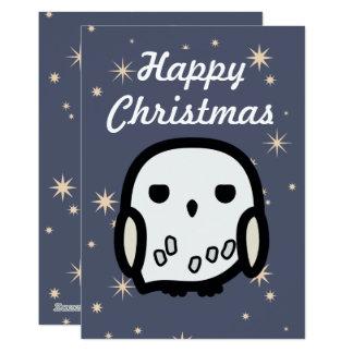 """Tarjeta de Navidad del arte del personaje de Invitación 5"""" X 7"""""""