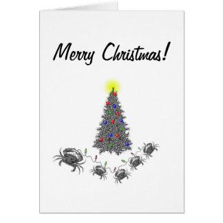 Tarjeta de Navidad del cáncer