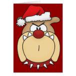 Tarjeta de Navidad del dogo