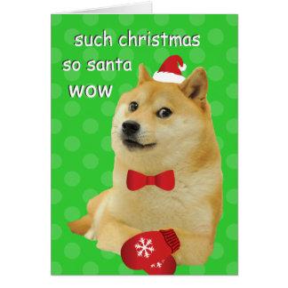 Tarjeta de Navidad del dux