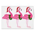 Tarjeta de Navidad del flamenco - SRF