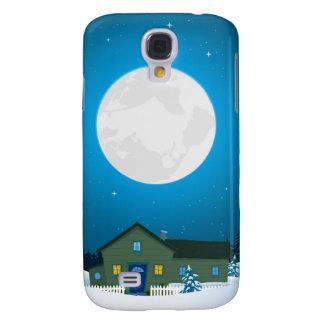 Tarjeta de Navidad del invierno Funda Para Samsung Galaxy S4