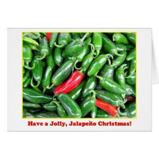 Tarjeta de Navidad del Jalapeno